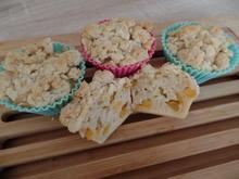 Aprikosen-Muffins mit Mandelstreuseln - Rezept - Bild Nr. 6245