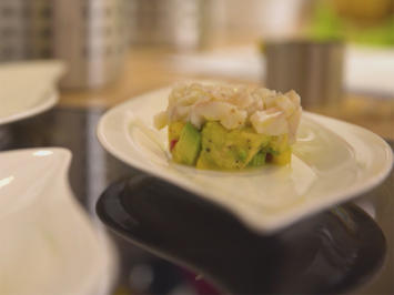 Rezept: Ceviche mit Mango-Avocado-Tatar