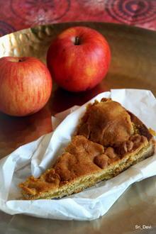Gedeckter Erdmandel-Apfelkuchen - Rezept - Bild Nr. 2