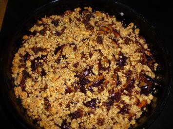 Rezept: Pflaumenkuchen mit Steuseln