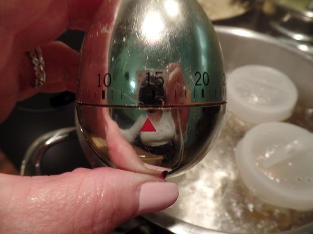 Eier auf  Spitzkohl-Senf-Rahm - Rezept - Bild Nr. 6257