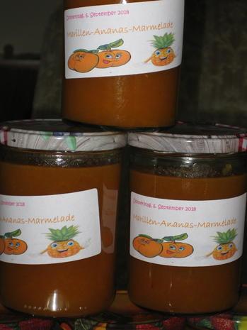 Marillen-Ananas-Marmelade - Rezept - Bild Nr. 6253