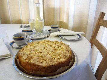 Rezept: Apfelkuchen nach ukrainischer Art