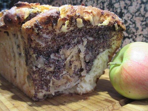Backen Apfel Mohn Kuchen Zum Zupfen Rezept Kochbar De