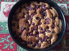 Pflaumenkuchen oder Kirschkuchen mit Marzipan  - Rezept - Bild Nr. 6261