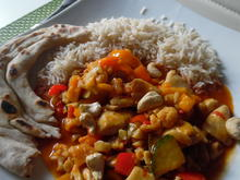 Rotes Hühner-Gemüse-Curry, scharf - Rezept - Bild Nr. 6255