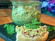 Avocado-Thunfisch-Creme mit gerösteter Spitzpaprika und Koriander - Rezept - Bild Nr. 2