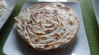 Lacha Paratha ....indisches Pfannen-Fladenbrot - Rezept - Bild Nr. 2