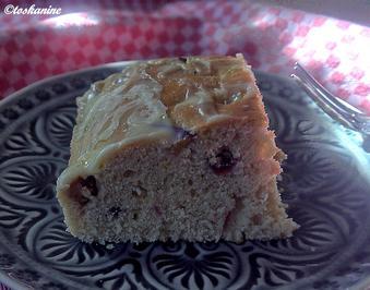 Zwetschgen-Süssholz-Kuchen mit Limetten-Topping - Rezept - Bild Nr. 6265