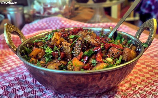 Scharfe Kartoffel-Paprika-Pfanne - Rezept - Bild Nr. 2