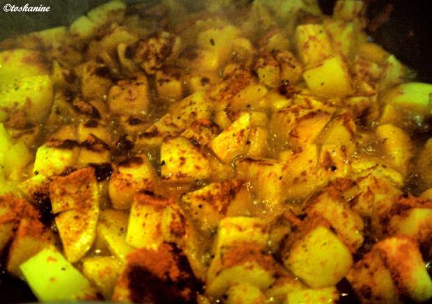 Scharfe Kartoffel-Paprika-Pfanne - Rezept - Bild Nr. 7