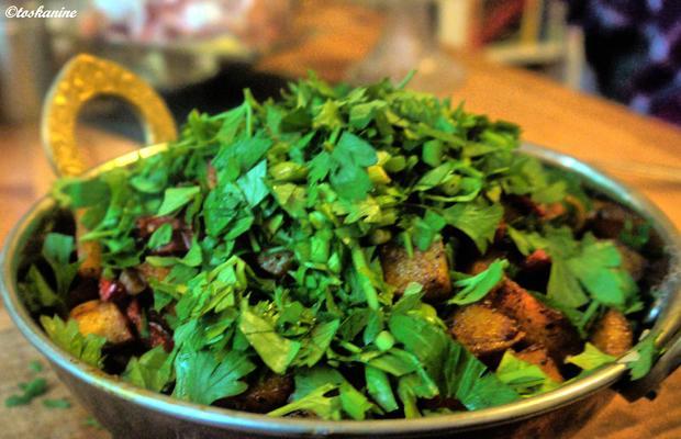 Scharfe Kartoffel-Paprika-Pfanne - Rezept - Bild Nr. 9