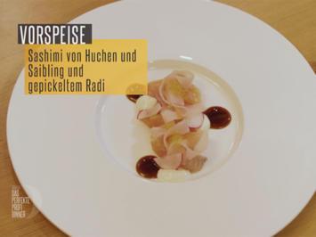 Rezept: Bayerisches Sushi von Saibling und Huchen | Bockbier Yaki | Kren & Radiserl (Lucki Maurer)