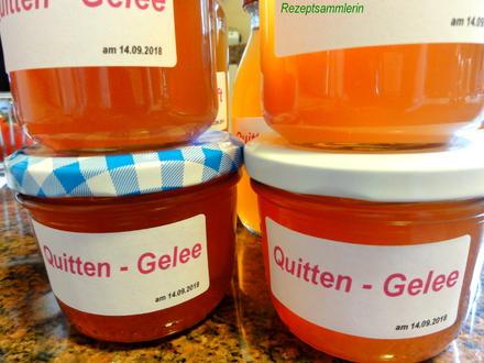 M&G:   QUITTEN ~ GELEE und SAFT - Rezept - Bild Nr. 6267