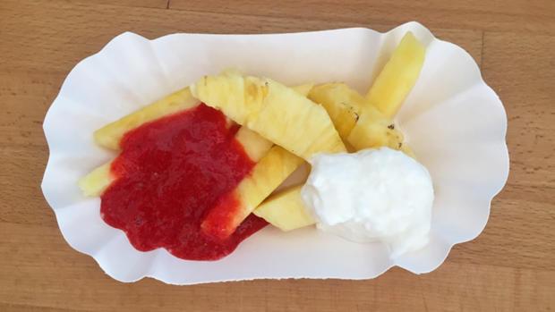 Ananas-Fritten: Die gesunden Kinder-Pommes - Rezept - Bild Nr. 6272
