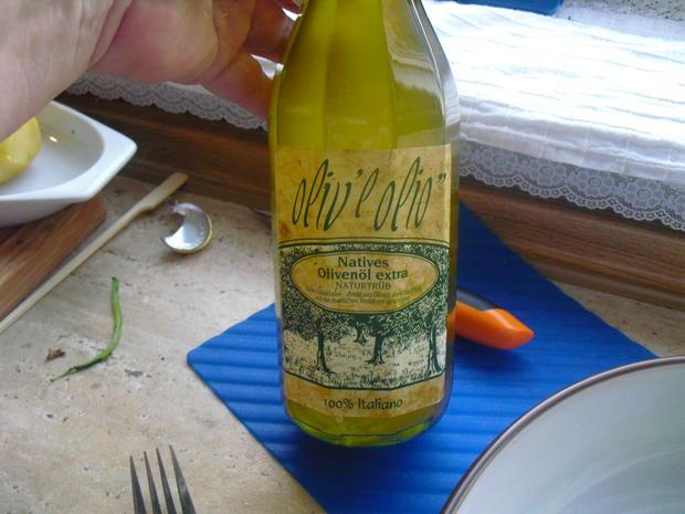 Fischer Lachs (mit Haut) an Zucchini Spagetti und Dip - Rezept - Bild Nr. 6294