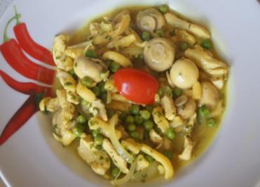 Hähnchen-Gemüse-Wok mit Spätzle - Rezept - Bild Nr. 6303