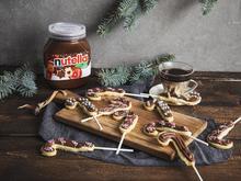 Butterplätzchen-Lollis mit nutella - Rezept - Bild Nr. 5