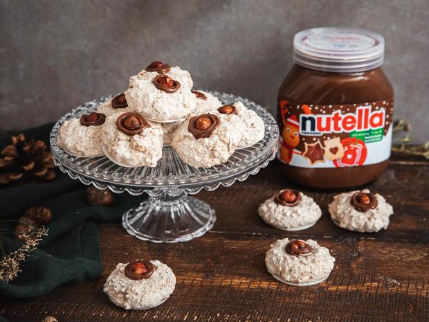 Haselnussmakronen mit nutella - Rezept - Bild Nr. 6