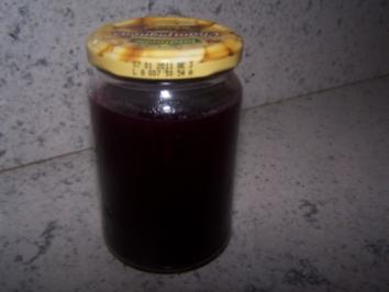 Traubengellee aus roten Trauben - Rezept