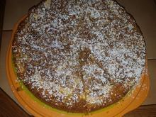 Kürbiskuchen mit Äpfeln und knusprigen Streuseln - Rezept - Bild Nr. 6307