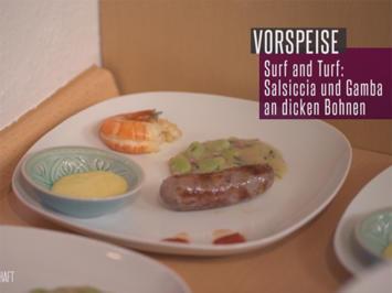 Mölmsche Interpretation von italienischer Salsiccia an dicken Bohnen - Rezept - Bild Nr. 6318