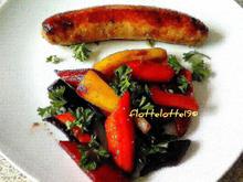 Bunte Möhren mit Bratwurst - Rezept - Bild Nr. 4