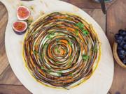 Gemüse-Spiral-Tarte - Rezept - Bild Nr. 2