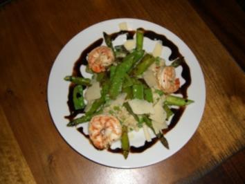 Rezept: Grünes Risotto mit Garnelen