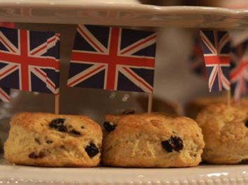 Scones mit Jam und Clotted Cream - Rezept - Bild Nr. 2