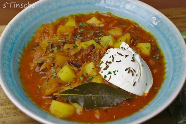 Sauerkraut-Kartoffel-Eintopf - Rezept - Bild Nr. 6362