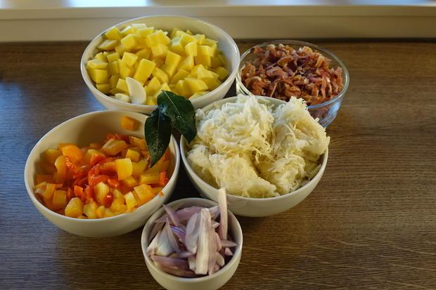 Sauerkraut-Kartoffel-Eintopf - Rezept - Bild Nr. 6364