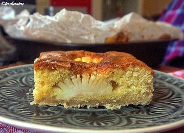 Rezept: Apfelsandkuchen