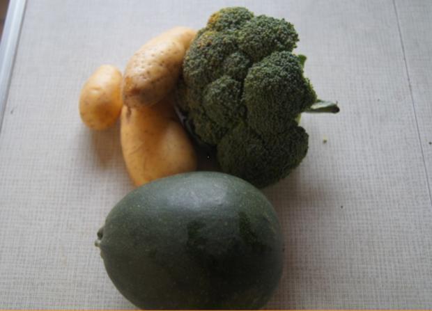 Gebratener Zucchini mit Brokkoli-Kartoffelstampf - Rezept - Bild Nr. 6360