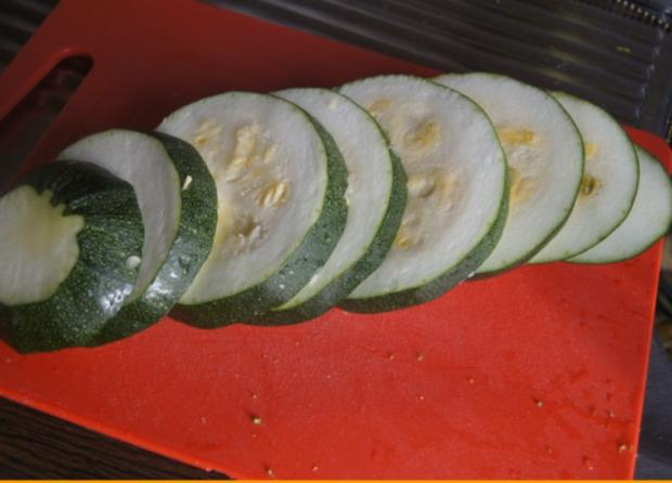 Gebratener Zucchini mit Brokkoli-Kartoffelstampf - Rezept - Bild Nr. 6361