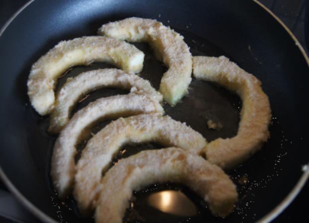 Gebratener Zucchini mit Brokkoli-Kartoffelstampf - Rezept - Bild Nr. 6363