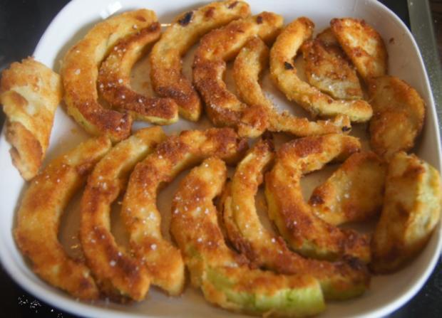 Gebratener Zucchini mit Brokkoli-Kartoffelstampf - Rezept - Bild Nr. 6365