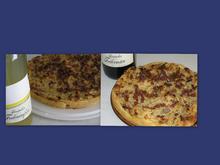 Zwiebelkuchen auf Mürb- oder Hefeteig - Rezept - Bild Nr. 2