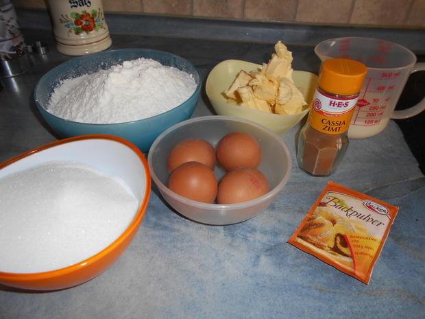 Apfelkuchen mit Streuseln - Rezept - Bild Nr. 6374