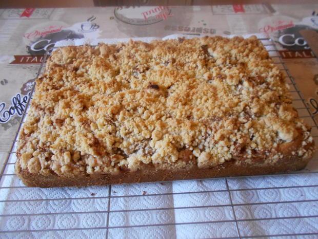 Apfelkuchen mit Streuseln - Rezept - Bild Nr. 6388