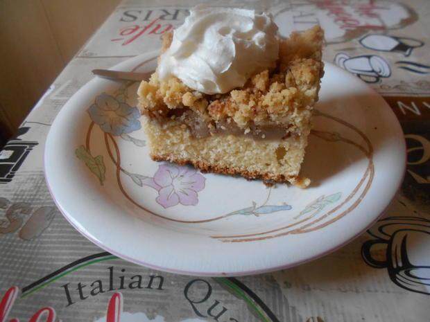 Apfelkuchen mit Streuseln - Rezept - Bild Nr. 6390