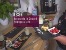 Panna cotta im Glas und Semifreddo-Torte - Rezept - Bild Nr. 2