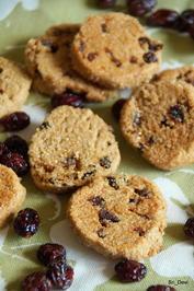 Plätzchen: Cranberry-Shortbread - Rezept - Bild Nr. 2
