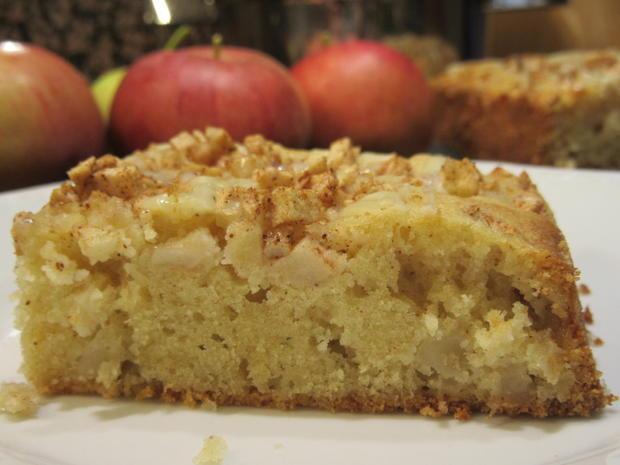 Backen: Apfel-Gewürz-Blondies - Rezept - Bild Nr. 2