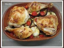 Hähnchenkeulen orientalisch angehaucht mit Bulgur - Rezept - Bild Nr. 2