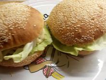 Burger/Buns XXL - Rezept - Bild Nr. 6381