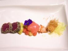 Variation von der Melone mit Hummer und Thunfisch - Rezept - Bild Nr. 2