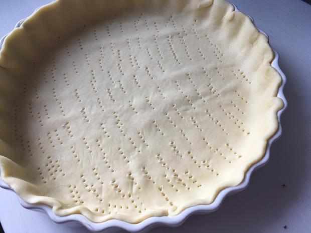 Bretonische Apfeltarte / Französische Apfeltarte - Rezept - Bild Nr. 6391