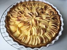 Bretonische Apfeltarte / Französische Apfeltarte - Rezept - Bild Nr. 6399