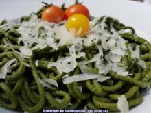 Spinat Pasta (mit selbst hergestelltem Gemüsepulver) - Rezept - Bild Nr. 2